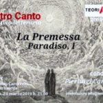 """D'altro canto : """"La Premessa"""", Paradiso I"""